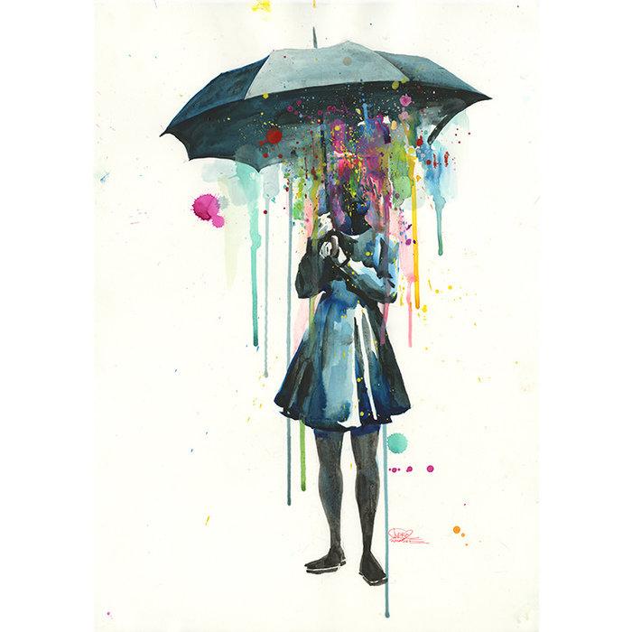 Принт Rainy А2