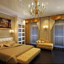 Фото из портфолио Классическая спальня с золотым декором – фотографии дизайна интерьеров на INMYROOM