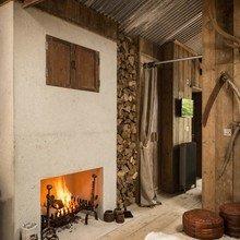 """Фото из портфолио Проект дома """"FIREFLY"""": Дерево+Бетон – фотографии дизайна интерьеров на InMyRoom.ru"""