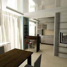 Фото из портфолио кухня-гостиная – фотографии дизайна интерьеров на INMYROOM