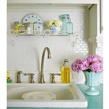 Фотография: Ванная в стиле Кантри, Современный, Кухня и столовая, Декор интерьера, Часы, Декор дома – фото на InMyRoom.ru