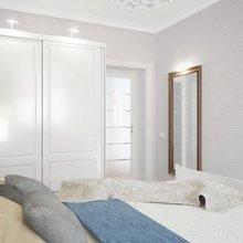Фотография: Спальня в стиле Скандинавский, Квартира, Цвет в интерьере, Дома и квартиры, Белый, Проект недели – фото на InMyRoom.ru