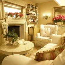 Фотография: Гостиная в стиле Кантри, Декор интерьера, Квартира, Дом, Декор, Особняк – фото на InMyRoom.ru