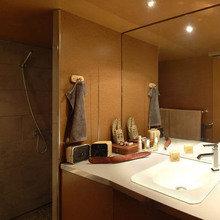 Фотография: Ванная в стиле Лофт, DIY, Дом, Дома и квартиры, Переделка – фото на InMyRoom.ru