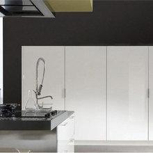 Фотография: Кухня и столовая в стиле Минимализм, Детская, Интерьер комнат, Маркет, Фотообои – фото на InMyRoom.ru