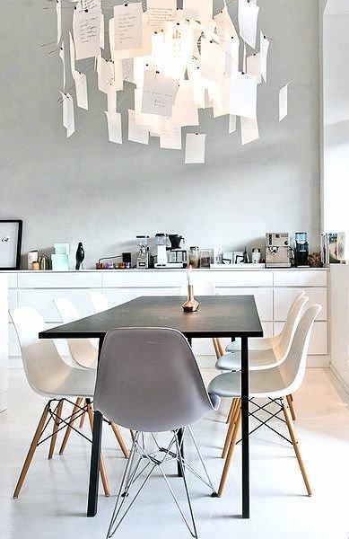 Фотография: Кухня и столовая в стиле Лофт, Скандинавский, Текстиль, Дизайн интерьера, Ремонт, Краска – фото на InMyRoom.ru