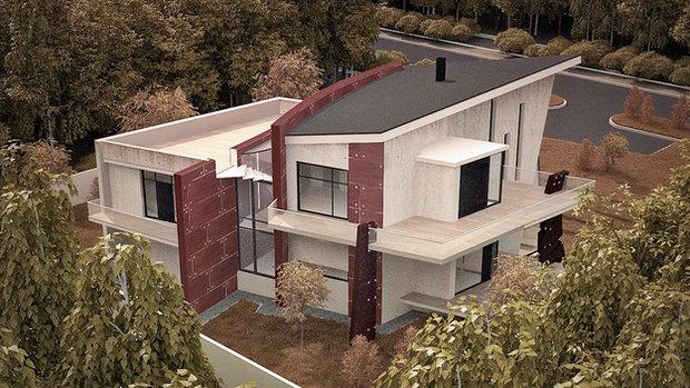 Фотография: Архитектура в стиле , Дом, Дома и квартиры, Архитектурные объекты – фото на InMyRoom.ru