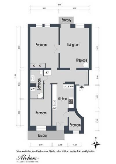 Фотография:  в стиле , Квартира, Швеция, Мебель и свет, Дома и квартиры, Гетеборг – фото на InMyRoom.ru