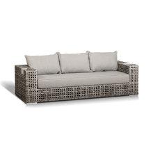 """диван  """"Тито"""" трехместный серый"""