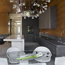 Фотография: Кухня и столовая в стиле Лофт, Дом, Дома и квартиры, Минимализм, Проект недели, Эко – фото на InMyRoom.ru