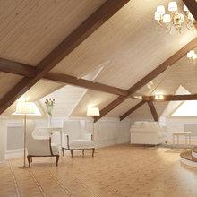 Фото из портфолио Дизайн частного коттеджа в классическом стиле – фотографии дизайна интерьеров на InMyRoom.ru