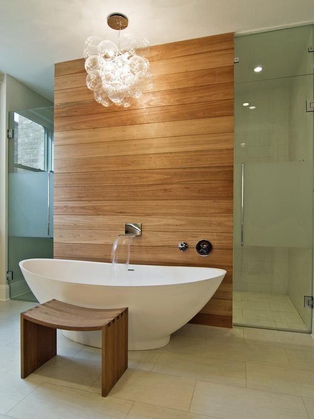 Фотография: Ванная в стиле Классический, Эко, Современный, Декор интерьера, Дизайн интерьера, Декор, Зеленый, Ванна – фото на InMyRoom.ru
