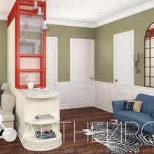 Фото из портфолио Дизайн квартиры на Змеиногорском тракте – фотографии дизайна интерьеров на INMYROOM