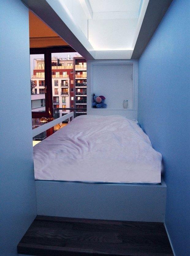 Фотография: Спальня в стиле , Детская, Интерьер комнат, Цвет в интерьере, Белый – фото на InMyRoom.ru