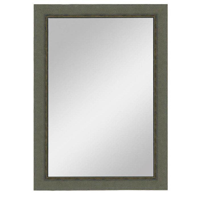 """Зеркало большое в итальянской деревянной раме """"Светлая Феррара"""""""