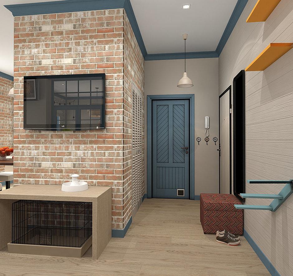 Фотография: Прихожая в стиле Скандинавский, Квартира, Проект недели, Zi-Design Interiors – фото на InMyRoom.ru