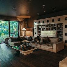 Фото из портфолио Дом, построенный в «странном» месте – фотографии дизайна интерьеров на INMYROOM
