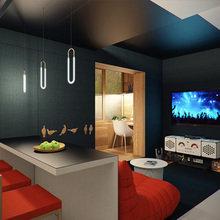 Фотография: Гостиная в стиле Минимализм, Малогабаритная квартира, Квартира, Дома и квартиры – фото на InMyRoom.ru