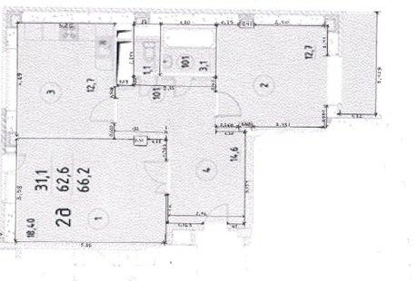 Помогите с перепланировкой и дизайн проектом 2 ки в 3 ку