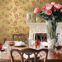 Фотография: Кухня и столовая в стиле Кантри, Гостиная, Интерьер комнат, Картины, Зеркало – фото на InMyRoom.ru