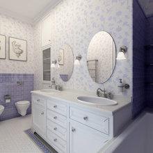 Фото из портфолио Ванные – фотографии дизайна интерьеров на InMyRoom.ru