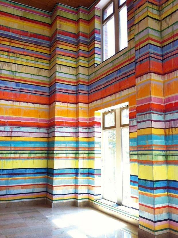 Фотография: Декор в стиле , Индустрия, Новости, Обои, Геометрия в интерьере – фото на InMyRoom.ru