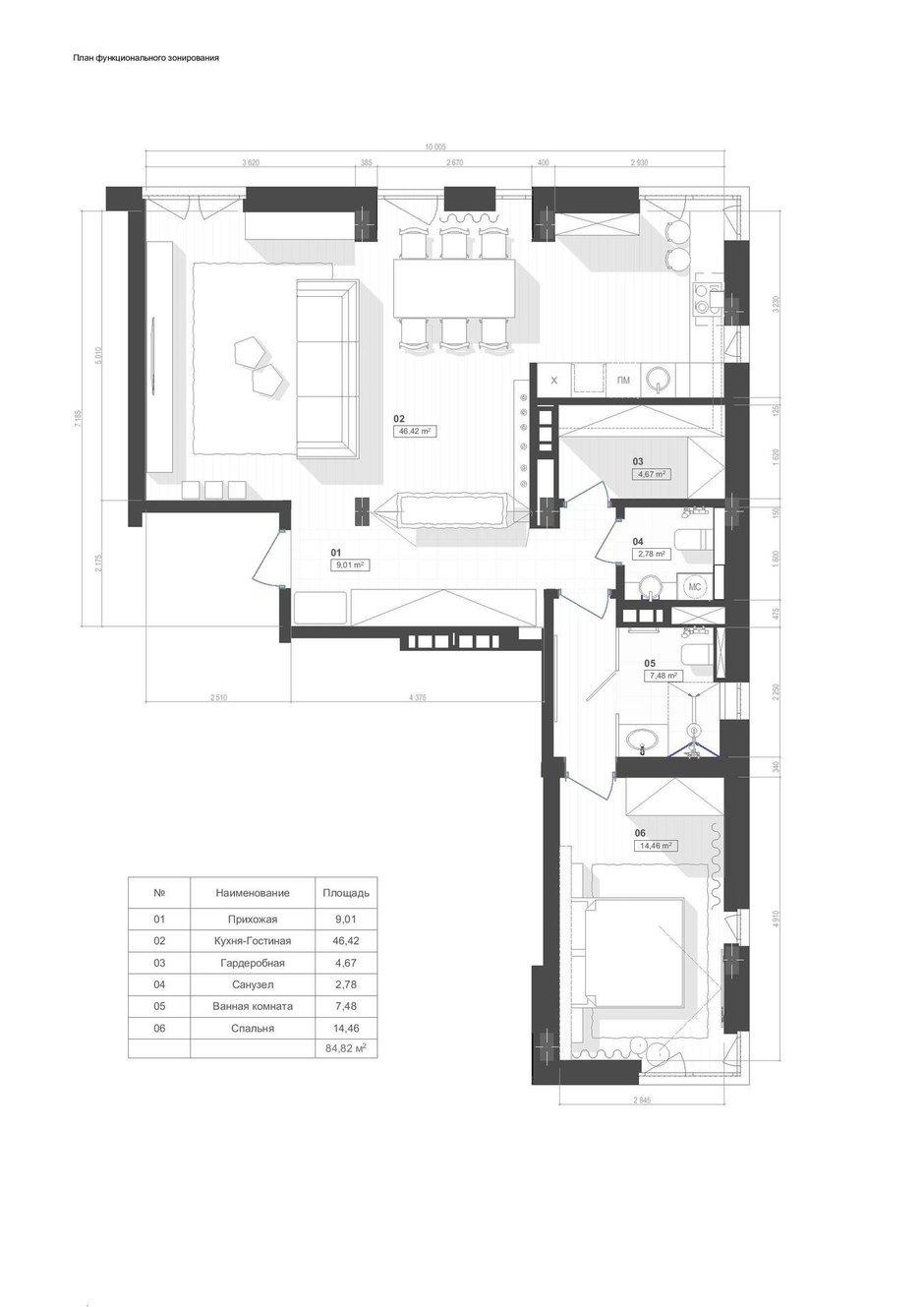 Фотография: Планировки в стиле , Лофт, Квартира, Проект недели, Киев, новостройка, Монолитный дом, 2 комнаты, 60-90 метров – фото на InMyRoom.ru