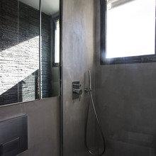 Фотография: Ванная в стиле Современный, Лофт, Малогабаритная квартира, Квартира, Дома и квартиры – фото на InMyRoom.ru