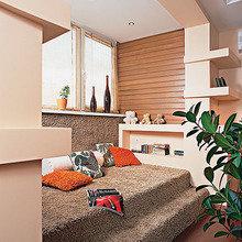 Фотография:  в стиле Современный, Декор интерьера, Квартира, Мебель и свет, Подиум – фото на InMyRoom.ru