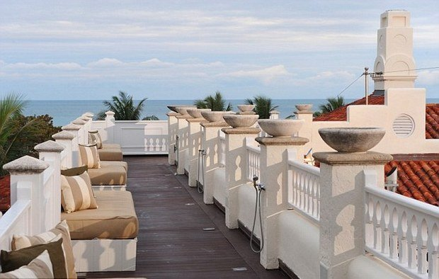 Фотография: Балкон, Терраса в стиле , Дома и квартиры, Интерьеры звезд – фото на InMyRoom.ru