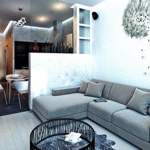 Фото из портфолио Квартира для молодого человека – фотографии дизайна интерьеров на INMYROOM