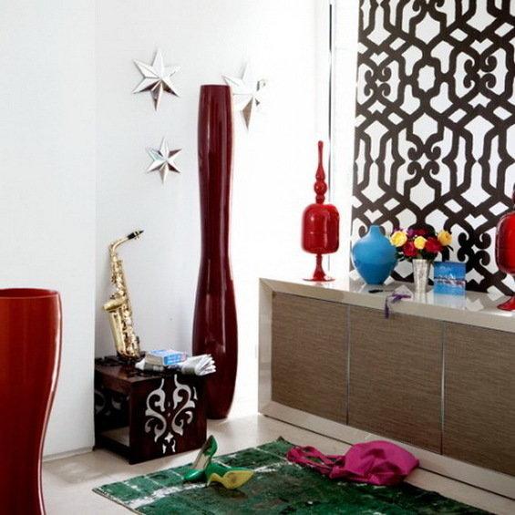 Фотография: Декор в стиле Восточный, Прихожая, Интерьер комнат, Ковер – фото на InMyRoom.ru