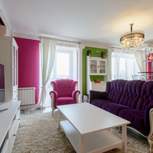 Фото из портфолио Гостиная на Кавалерийской – фотографии дизайна интерьеров на InMyRoom.ru