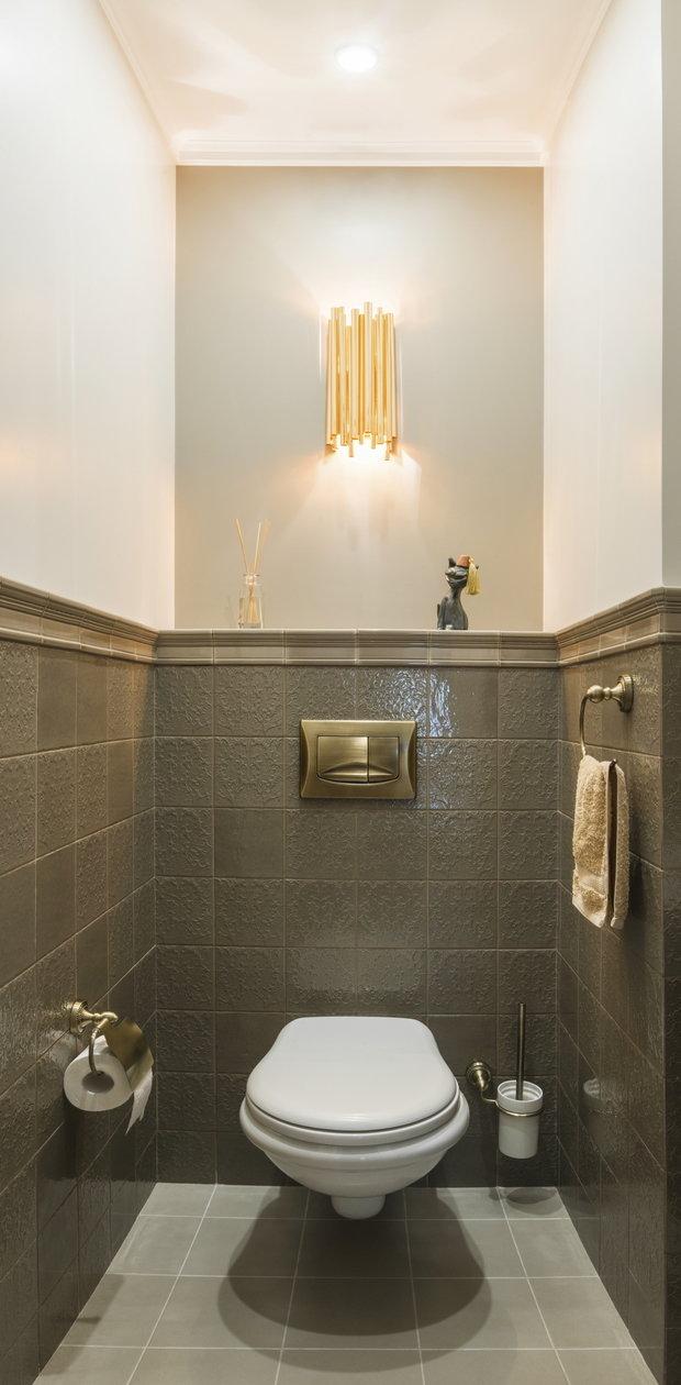 Фотография: Ванная в стиле Классический, Квартира, Проект недели, Студия 3.14, Сталинка, 3 комнаты, 60-90 метров, Иероним Грабштейн – фото на INMYROOM