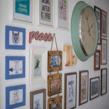 Фотография: Декор в стиле Кантри, Современный, Кухня и столовая, Декор интерьера, Часы, Декор дома – фото на InMyRoom.ru