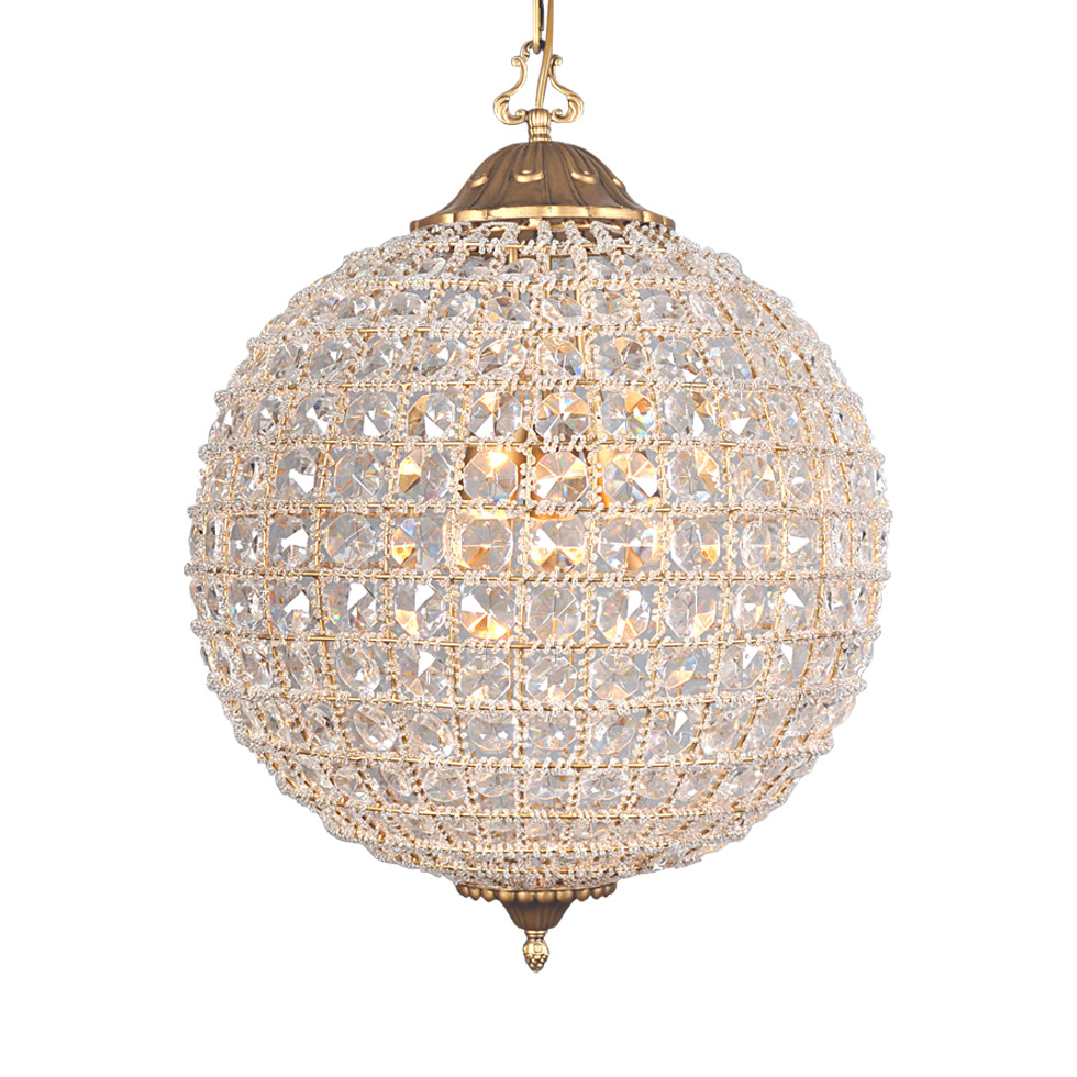 Подвесная люстра Alcazar Crystal Medium Chandelier