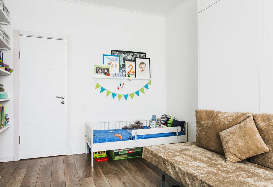 Фотография:  в стиле , Классический, Квартира, Проект недели, Новая Москва, Мария Махмудова, новостройка, Монолитный дом, 1 комната, до 40 метров – фото на InMyRoom.ru