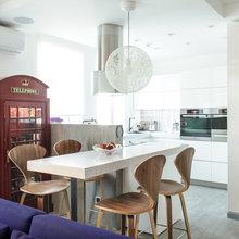 Фотография: Кухня и столовая в стиле Лофт, Квартира, Дома и квартиры, Проект недели, Поп-арт – фото на InMyRoom.ru