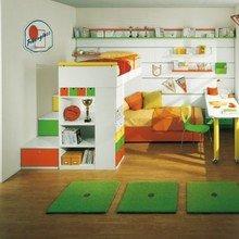 Фотография: Детская в стиле Современный, Интерьер комнат, Ковер – фото на InMyRoom.ru