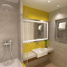Фото из портфолио Bathroom – фотографии дизайна интерьеров на InMyRoom.ru