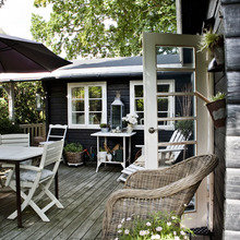 Фотография: Терраса в стиле Кантри, Скандинавский, Дания, Дача, Дом и дача – фото на InMyRoom.ru