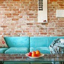 Фотография: Гостиная в стиле Кантри, Лофт, Современный, Эклектика – фото на InMyRoom.ru