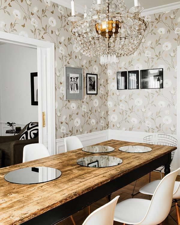 Фотография: Кухня и столовая в стиле Классический, Современный, Текстиль, Стиль жизни, Советы, Цветы – фото на InMyRoom.ru