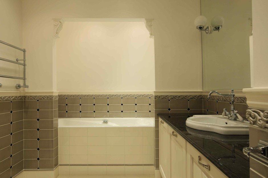 Фотография: Ванная в стиле Современный, Классический, Квартира, Дома и квартиры – фото на InMyRoom.ru