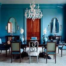 Фотография: Кухня и столовая в стиле , Эклектика, Декор интерьера, Декор дома, Цвет в интерьере, Геометрия в интерьере – фото на InMyRoom.ru