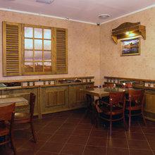 Фото из портфолио Ресторан 45 калибр – фотографии дизайна интерьеров на InMyRoom.ru