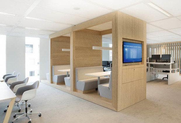 Фотография:  в стиле Скандинавский, Офисное пространство, Офис, Дома и квартиры, Проект недели – фото на InMyRoom.ru