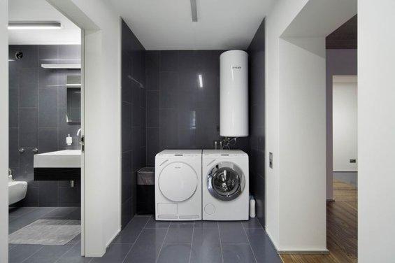 Фотография: Ванная в стиле Минимализм, Лофт, Квартира, Дома и квартиры, Градиз – фото на InMyRoom.ru