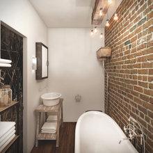 Фото из портфолио Лофт для молодой пары – фотографии дизайна интерьеров на INMYROOM