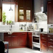 Фотография: Кухня и столовая в стиле Кантри, Декор интерьера, Интерьер комнат, Плитка – фото на InMyRoom.ru